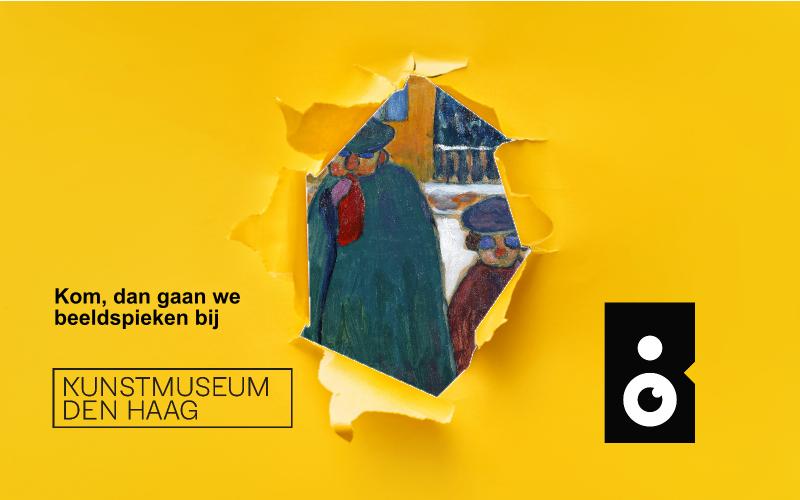 Beeldspieken in het Kunstmuseum Den Haag met een sneakpeak van de Jongens op vastenavond van Gabriele Münter