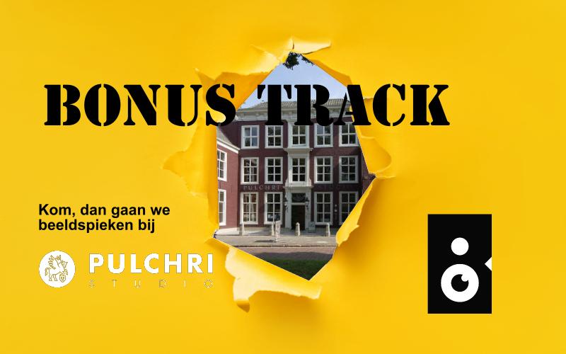 Beeldspieken bij de zomertentoonstelling van Pulchri studio's in Den Haag met een sneakpeak van het gebouw
