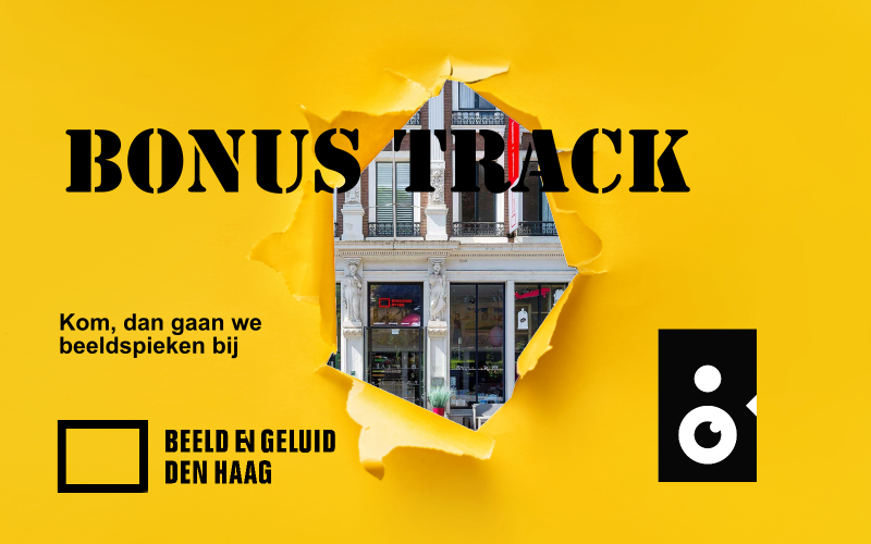 Beeldspieken in Beeld en geluid Den Haag met een sneakpeak van het gebouw