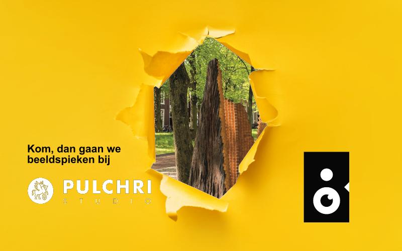 Beeldspieken bij de zomertentoonstelling van Pulchri studio's in Den Haag met een sneakpeak van Triomf
